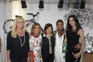 Bya Barros, Deyse Camasmie, Roberto Camasmie, Roberta Miranda e Daniela Albuquerque